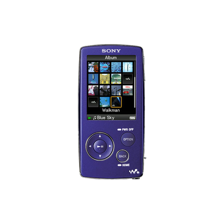 2GB A Series Video MP3 Walkman (Violet)