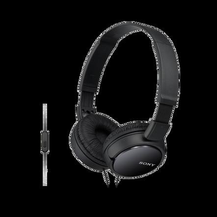 ZX110 Headband Type Headphones (Black), , hi-res