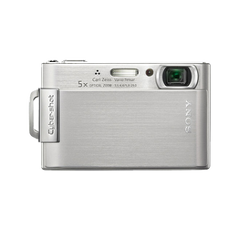 8.1 Megapixel T Series 5X Optical Zoom CyberShot (Silver), , hi-res