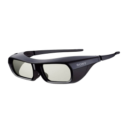 Small Active Shutter 3D Glasses for BRAVIA Full HD 3D TV (Black)