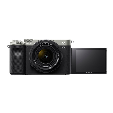 Alpha 7C - Compact Digital E-Mount Camera with 35mm Full Frame Image Sensor (Silver - Body only), , hi-res