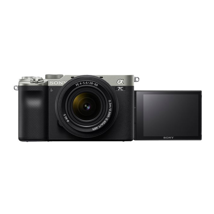 Alpha 7C - Compact Digital E-Mount Camera with 35mm Full Frame Image Sensor (Silver - Body only), , product-image