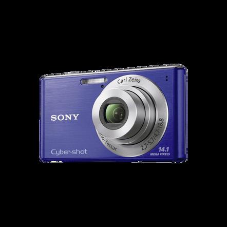 14.1 Megapixel W Series 4X Optical Zoom Cyber-shot Compact Camera (Blue)
