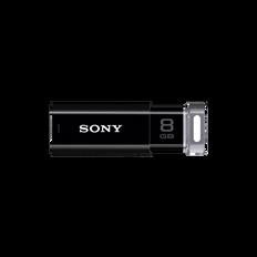 8GB USB Micro Vault Click (Black)