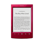 T2 Reader with 6.0 Paper-Like Touch Screen (Red), , hi-res