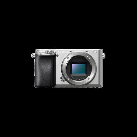 Alpha 6100 Digital E-Mount Camera with 24.2MP APS-C Sensor Silver, , hi-res