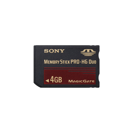 4GB Memory Stick PRO-HG Duo, , hi-res