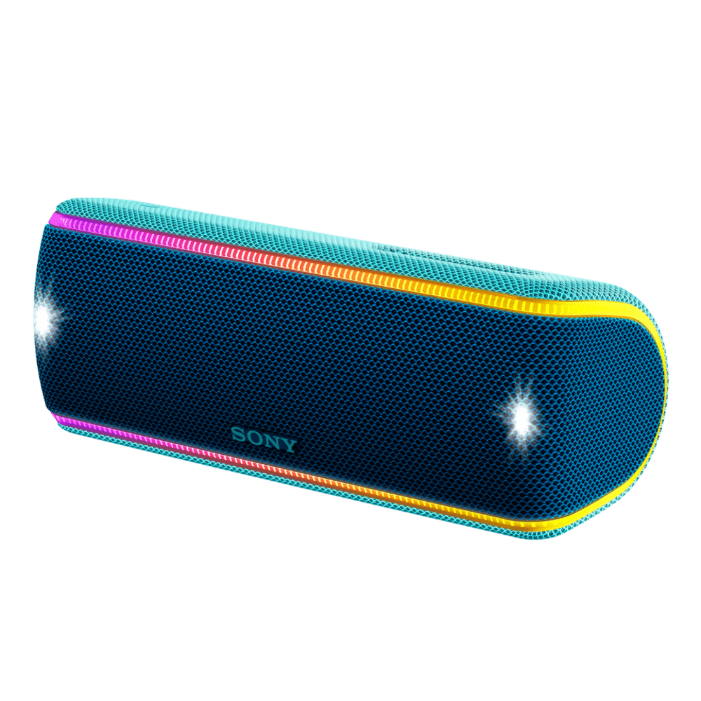 EXTRA BASS Waterproof Bluetooth Party Speaker (Blue), , product-image