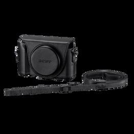 Jacket Case For Cyber-shot DSC-HX50V Black, , lifestyle-image