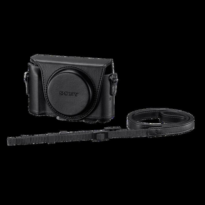 Jacket Case For Cyber-shot DSC-HX50V Black, , product-image