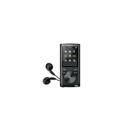 4GB E Series Video MP3/MP4 Walkman (Black)
