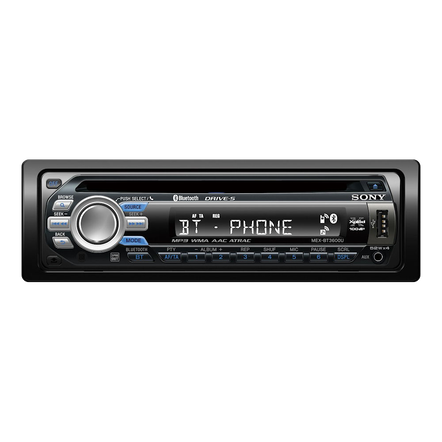 BT3600 In-Car CD Player, , hi-res
