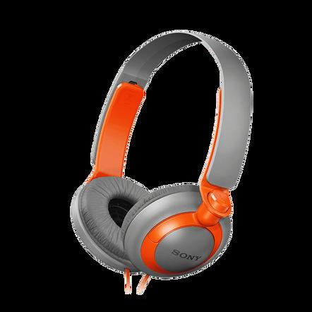XB200 Extra Bass (XB) Headphones (Orange)