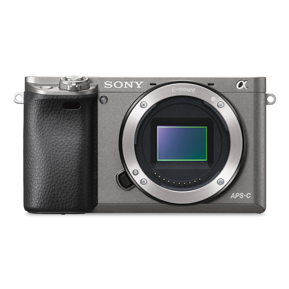 Alpha 6000 Digital E-Mount Camera (Grey) with 16-50mm Lens, , product-image