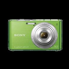 14.1 Megapixel W Series 4X Optical Zoom Cyber-shot Compact Camera (Green)