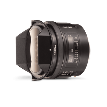 A-Mount 16mm F2.8 Fisheye Lens, , hi-res