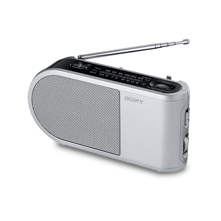 PORTABLE RADIO - SILVER, , product-image