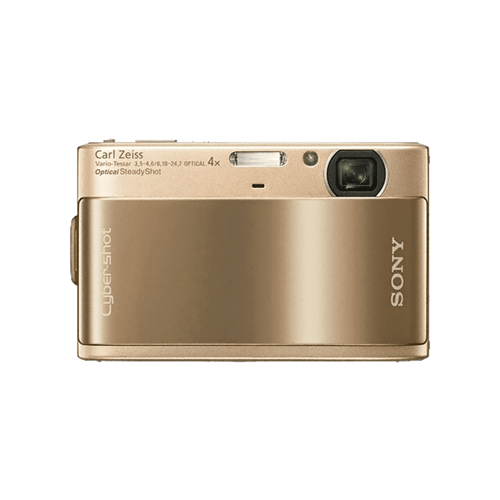 10.2 Megapixel T Series 4X Optical Zoom Cyber-shot Compact Camera (Gold), , product-image