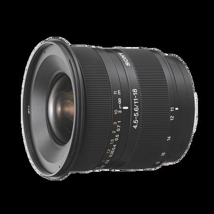 A-Mount 11 18mm F4.5 5.6 Wide Lens, , hi-res
