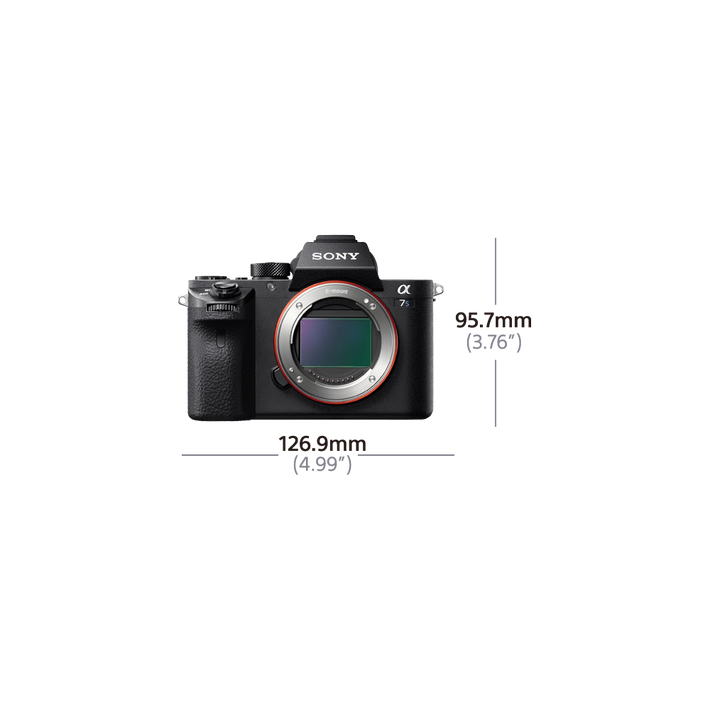 Alpha 7S II Digital E-Mount Camera with Full Frame Sensor (Body only), , product-image