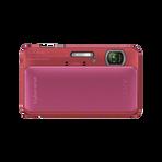 16.2 Megapixel T Series 4X Optical Zoom Cyber-shot Compact Camera (Pink), , hi-res