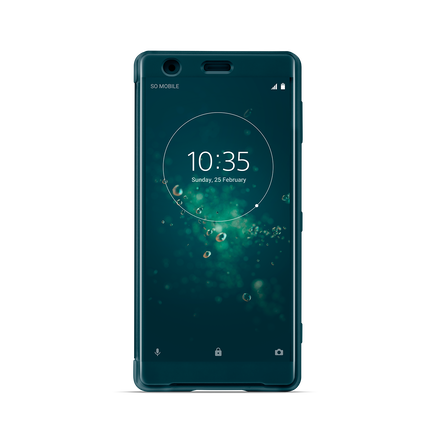 Style Cover Touch SCTH40 for Xperia XZ2 (Green)
