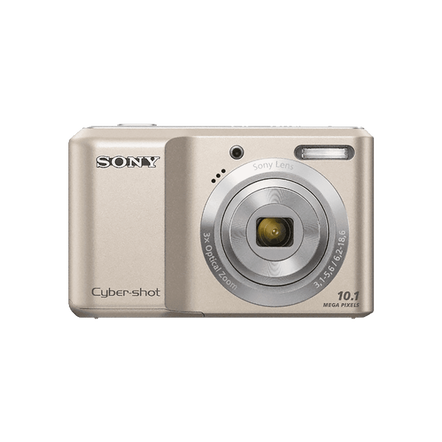 10.1 Megapixel S Series 3X Optical Zoom Cyber-shot Compact Camera (Silver)