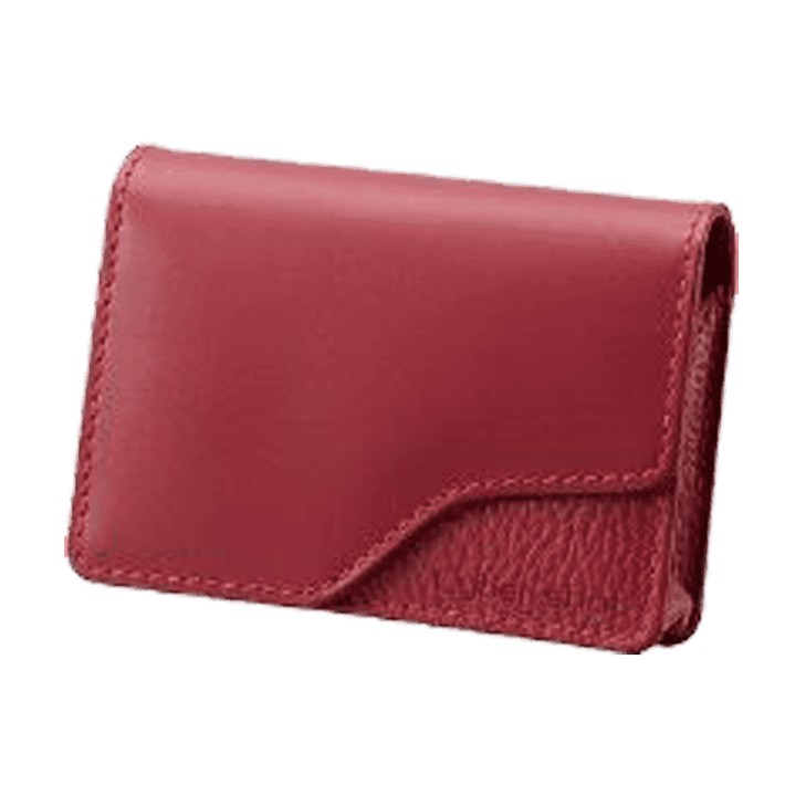 Soft Leather Carrying Case (Red), , product-image