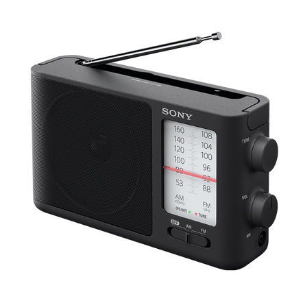 Analog Tuning Portable FM/AM Radio, , hi-res