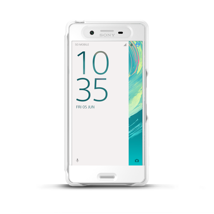 Style Cover Touch SCR50 for Xperia X (White), , hi-res