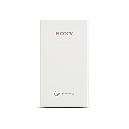 Portable USB Charger 5000mAH (White), , hi-res