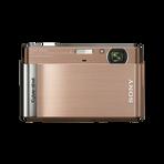 12.1 Megapixel T Series 4X Optical Zoom Cyber-shot Compact Camera (Brown), , hi-res