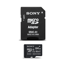 Micro SD Memory Card and Adapter