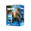 PlayStation4 DualShock Wireless Controllers (Black) Bundle with Fortnite additional content