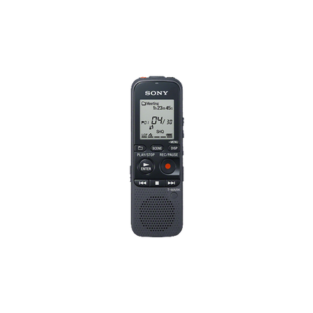 4GB PX Series MP3 Digital Voice IC Recorder with expandable memory capabilities, , hi-res