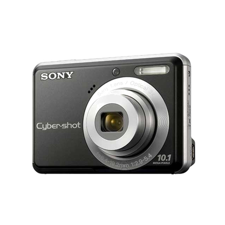 10.1 Megapixel S Series 3X Optical Zoom Cyber-shot Compact Camera (Black)