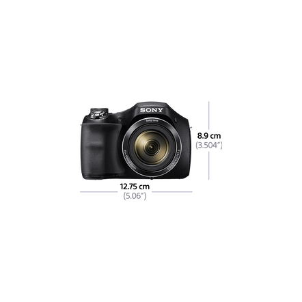 H300 Digital Compact Camera with 35x Optical Zoom, , hi-res