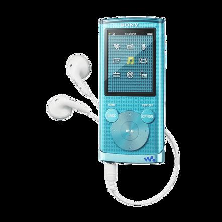4GB E Series Video MP3/MP4 Walkman (Blue), , hi-res