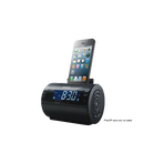 iPod and iPhone Dock Clock Radio (Black), , hi-res