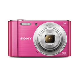 W810 Digital Compact Camera with 6x Optical Zoom (Pink)