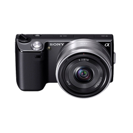 14.2 Megapixel Camera (Black) with SEL16F28 Lens, , lifestyle-image