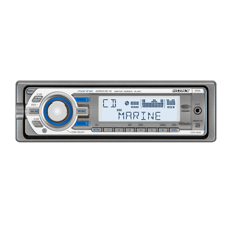 Marine MP3 M30 Series Radio/CD Head Unit