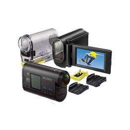 Full HD Action Cam with LCD Mount, , hi-res
