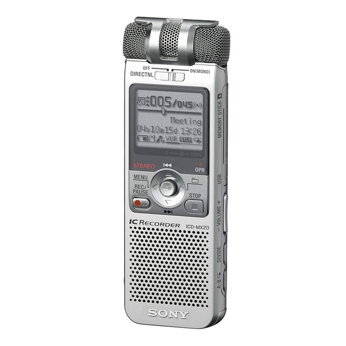 32MB Memory Stick Digital Voice IC Recorder, , product-image