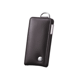 Leather Carrying Case for Walkman Video MP3 Players (Black), , hi-res