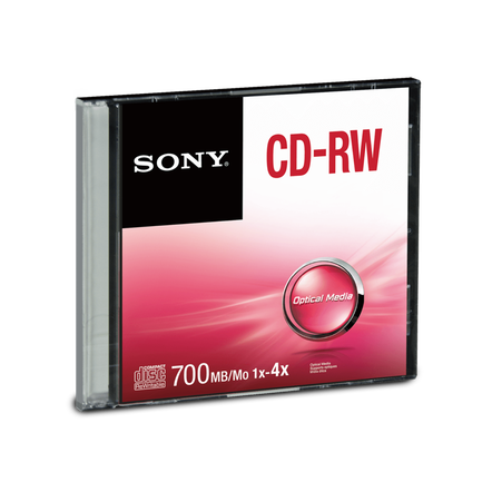 CD-RW Slim Case, , hi-res