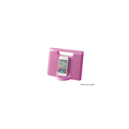 iPod and iPhone Portable Dock (Pink)