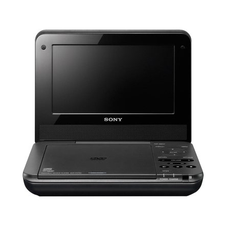 "7"" FX720 Series Portable DVD Player (White), , hi-res"