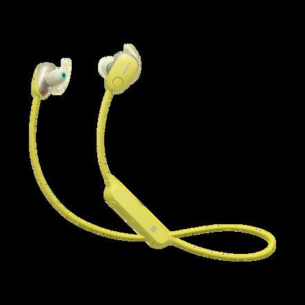 SP600N Wireless In-ear Sports Headphones (Yellow), , hi-res