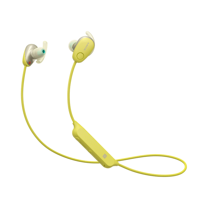 SP600N Wireless In-ear Sports Headphones (Yellow), , product-image
